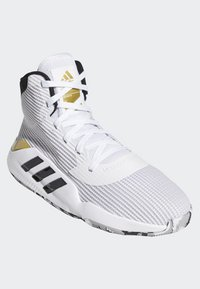 adidas Performance - PRO BOUNCE 2019 SHOES - Chaussures de basket - white - 3