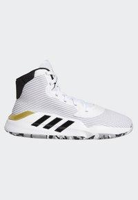 adidas Performance - PRO BOUNCE 2019 SHOES - Koripallokengät - white - 6