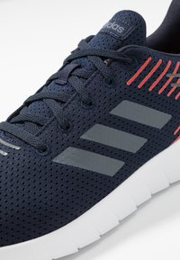 adidas Performance - ASWEERUN - Neutral running shoes - legend ink/onix/active red - 5