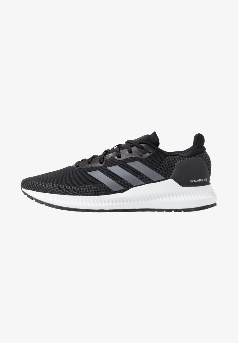 adidas Performance - SOLAR BLAZE - Minimalist running shoes - core black/grey five/footwear white