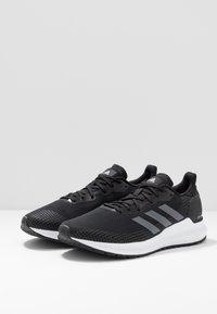 adidas Performance - SOLAR BLAZE - Minimalist running shoes - core black/grey five/footwear white - 2