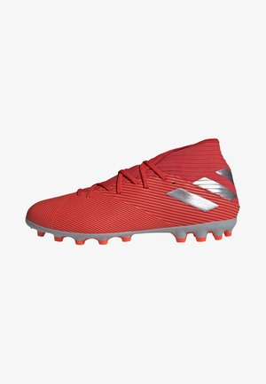 NEMEZIZ 19.3 ARTIFICIAL GRASS BOOTS - Moulded stud football boots - red