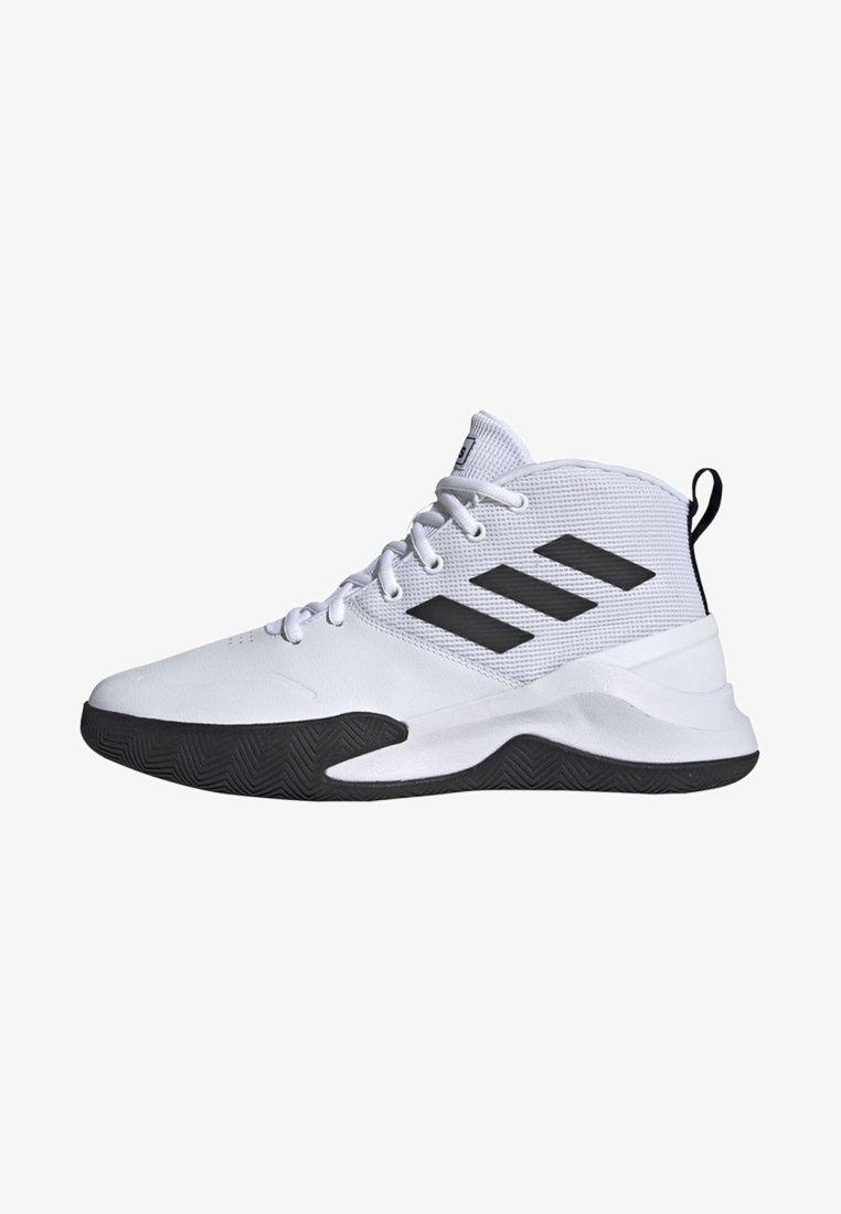 adidas Performance - OWN THE GAME SHOES - Basketball shoes - white/black