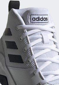 adidas Performance - OWN THE GAME SHOES - Basketball shoes - white/black - 6