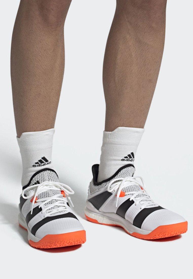 adidas Performance - STABIL X SHOES - Handballschuh - white