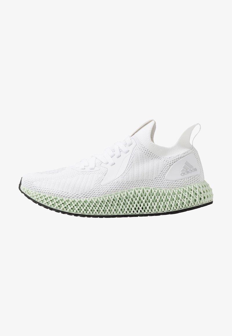 adidas Performance - ALPHAEDGE 4D  - Neutrala löparskor - footwear white/silver metallic/core black