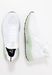 adidas Performance - ALPHAEDGE 4D  - Neutrala löparskor - footwear white/silver metallic/core black - 1