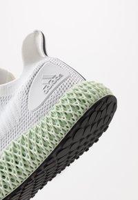 adidas Performance - ALPHAEDGE 4D  - Neutrala löparskor - footwear white/silver metallic/core black - 5