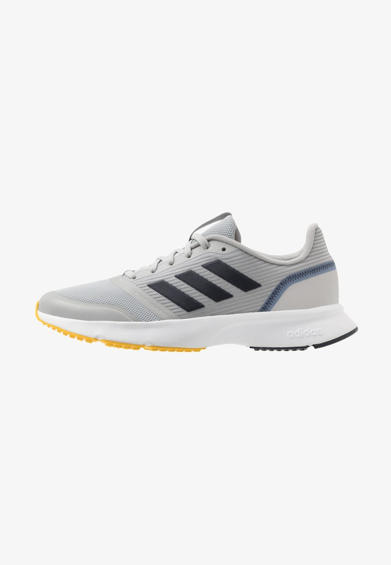 adidas Performance - NOVA FLOW - Neutral running shoes - grey two/legend ink/yellow