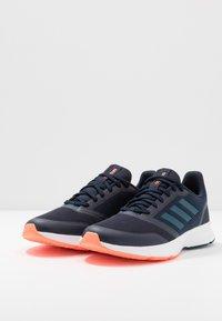 adidas Performance - NOVA FLOW - Zapatillas de running neutras - legend ink/tech mint/signal coral - 2