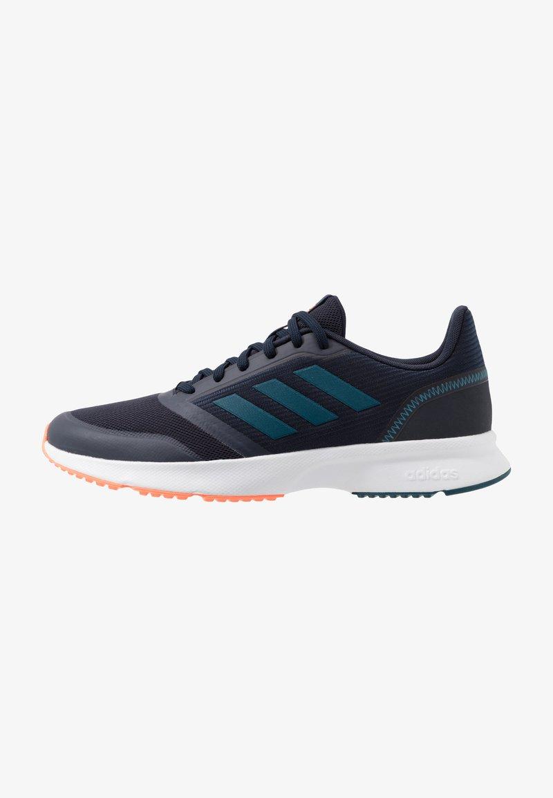 adidas Performance - NOVA FLOW - Zapatillas de running neutras - legend ink/tech mint/signal coral