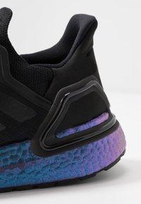 adidas Performance - ULTRABOOST 20 - Zapatillas de running neutras - core black/blue violet metallic - 5