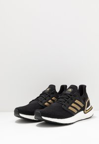 adidas Performance - ULTRABOOST 20 PRIMEKNIT RUNNING SHOES - Neutral running shoes - core black/gold metallic/solar red - 2