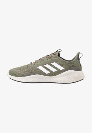 FLUIDFLOW - Neutral running shoes - legend green/footwear white/dove grey