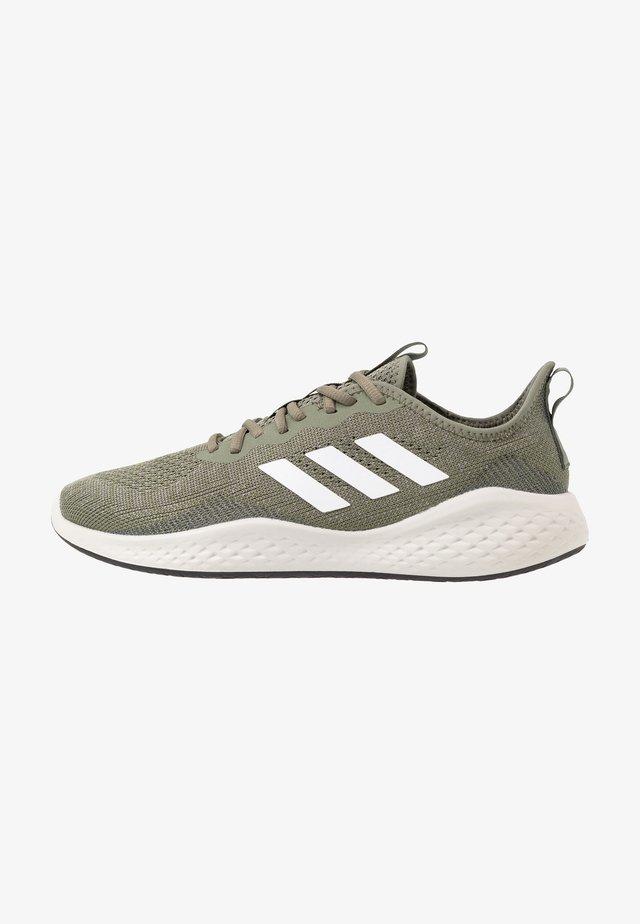 FLUIDFLOW - Hardloopschoenen neutraal - legend green/footwear white/dove grey