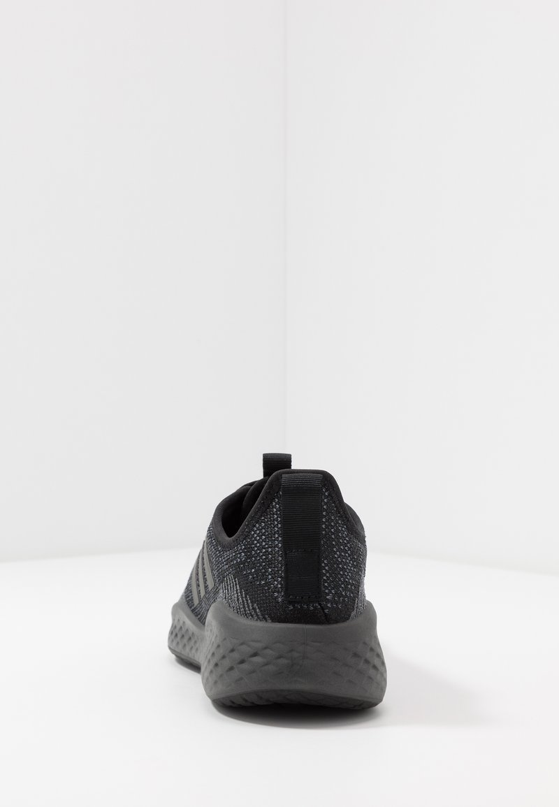 adidas Performance FLUIDFLOW - Nøytrale løpesko - core black/grey six/onix