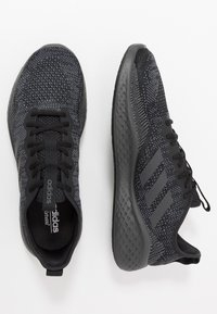 adidas Performance - FLUIDFLOW - Neutral running shoes - core black/grey six/onix - 1