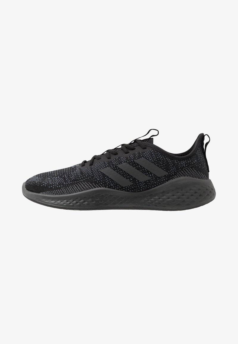 adidas Performance - FLUIDFLOW - Neutral running shoes - core black/grey six/onix