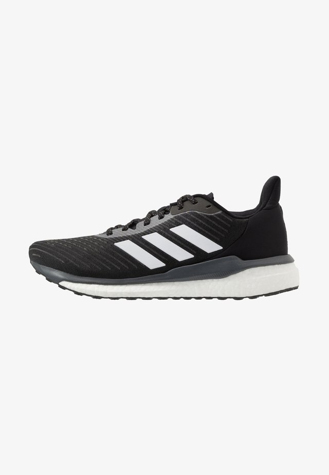 SOLAR DRIVE 19 - Neutral running shoes - core black/footwear white/grey six