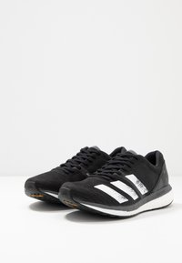 adidas Performance - ADIZERO BOSTON 8 - Zapatillas de competición - core black/footwear white/grey five - 2