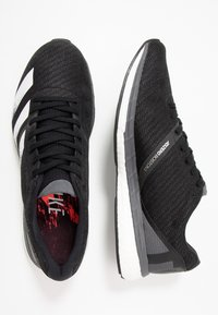 adidas Performance - ADIZERO BOSTON 8 - Zapatillas de competición - core black/footwear white/grey five - 1