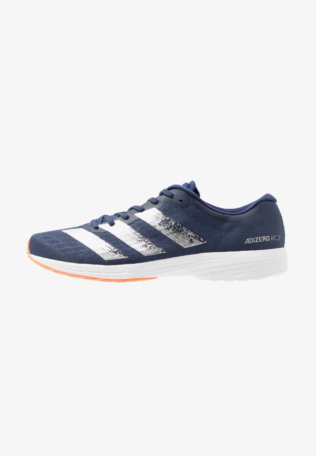 ADIZERO RC 2 - Competition running shoes - tec indigo/silver metallic/dash grey