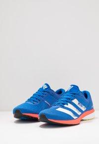adidas Performance - ADIZERO RC 2 - Juoksukenkä/kisakengät - glow blue/core white/solar red - 2