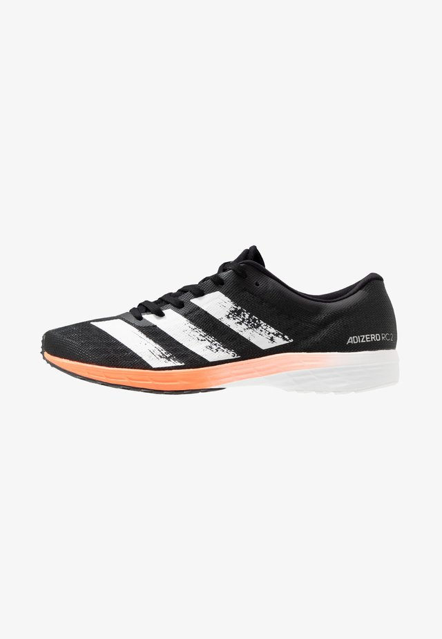 ADIZERO RC 2 - Chaussures de running compétition - core black/footwaer white