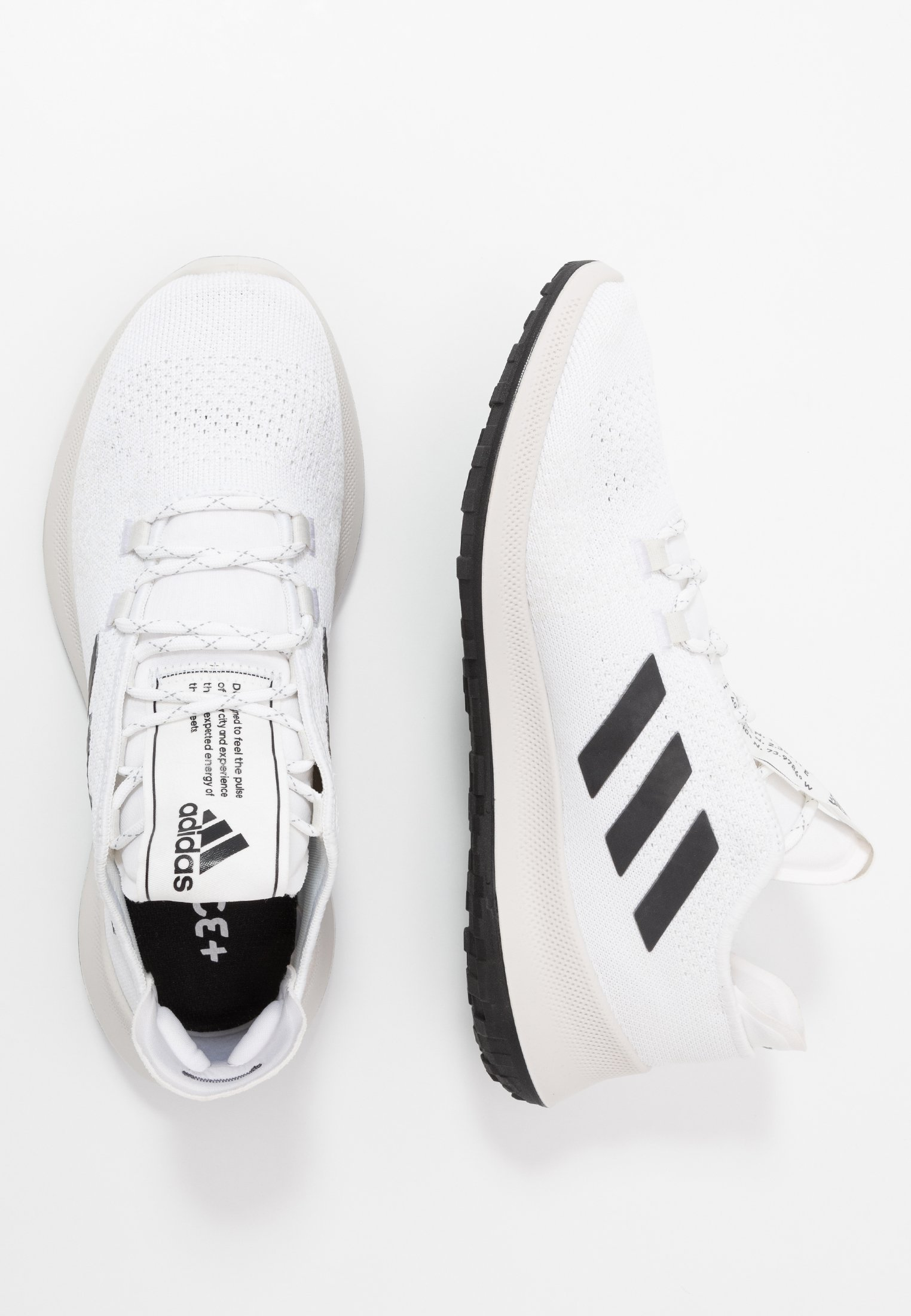 adidas Performance SENSEBOUNCE ACE - Neutrale løbesko - footwear white/core black/crystal white