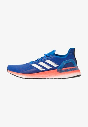 ULTRABOOST - Neutral running shoes - glow blue/core white/solar red