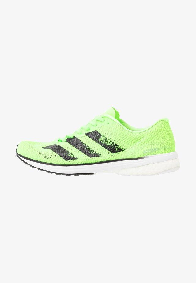 ADIZERO ADIOS 5 - Neutral running shoes - signal green/core black/footwear white