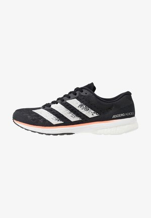 ADIZERO ADIOS 5 - Zapatillas de running neutras - core black/footwear white/signal coral