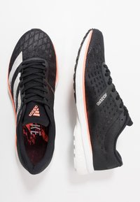 adidas Performance - ADIZERO ADIOS 5 - Laufschuh Neutral - core black/footwear white/signal coral - 1