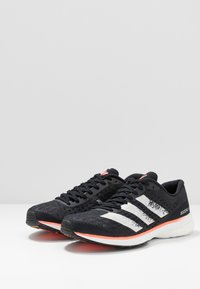adidas Performance - ADIZERO ADIOS 5 - Laufschuh Neutral - core black/footwear white/signal coral - 2