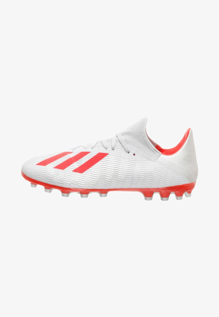 adidas Performance - AG FUSSBALLSCHUH HERREN - Fußballschuh Stollen - silver/red/white