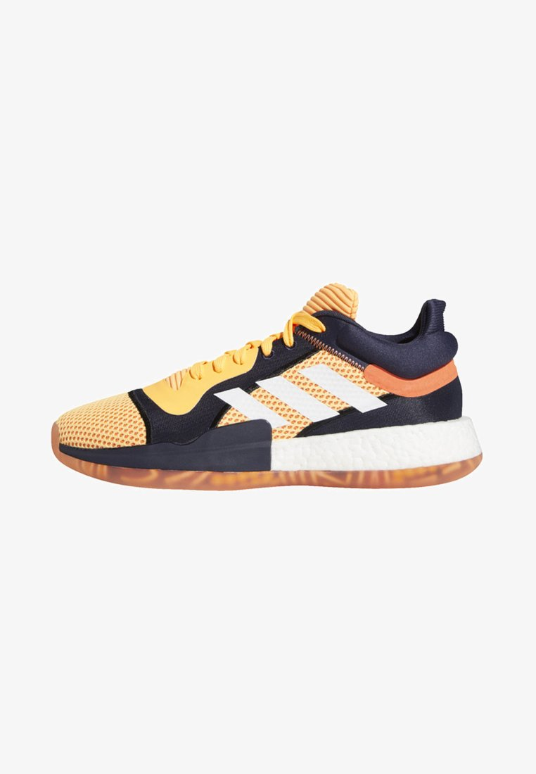 adidas Performance - MARQUEE BOOST LOW SHOES - Trainings-/Fitnessschuh - orange/white/blue
