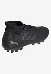 adidas Performance - PREDATOR 19.3 ARTIFICIAL GRASS BOOTS - Tekonurmikengät - black - 3