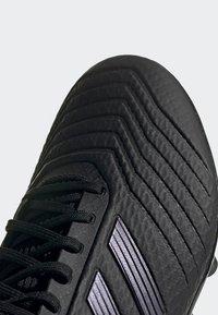 adidas Performance - PREDATOR 19.3 ARTIFICIAL GRASS BOOTS - Tekonurmikengät - black - 8