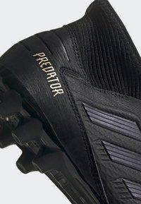adidas Performance - PREDATOR 19.3 ARTIFICIAL GRASS BOOTS - Tekonurmikengät - black - 7