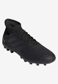 adidas Performance - PREDATOR 19.3 ARTIFICIAL GRASS BOOTS - Tekonurmikengät - black - 5