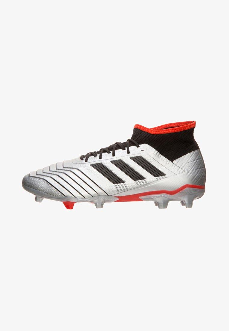 adidas Performance - PREDATOR - Fußballschuh Nocken - silver