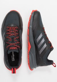 adidas Performance - ROCKADIA TRAIL 3.0 - Zapatillas de trail running - core black/bright metallic/grey six - 1