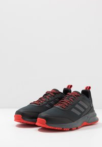 adidas Performance - ROCKADIA TRAIL 3.0 - Zapatillas de trail running - core black/bright metallic/grey six - 2