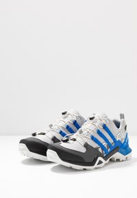 adidas Performance - TERREX SWIFT R2 GORE-TEX - Trail running shoes - grey two/glow blue/core black - 2