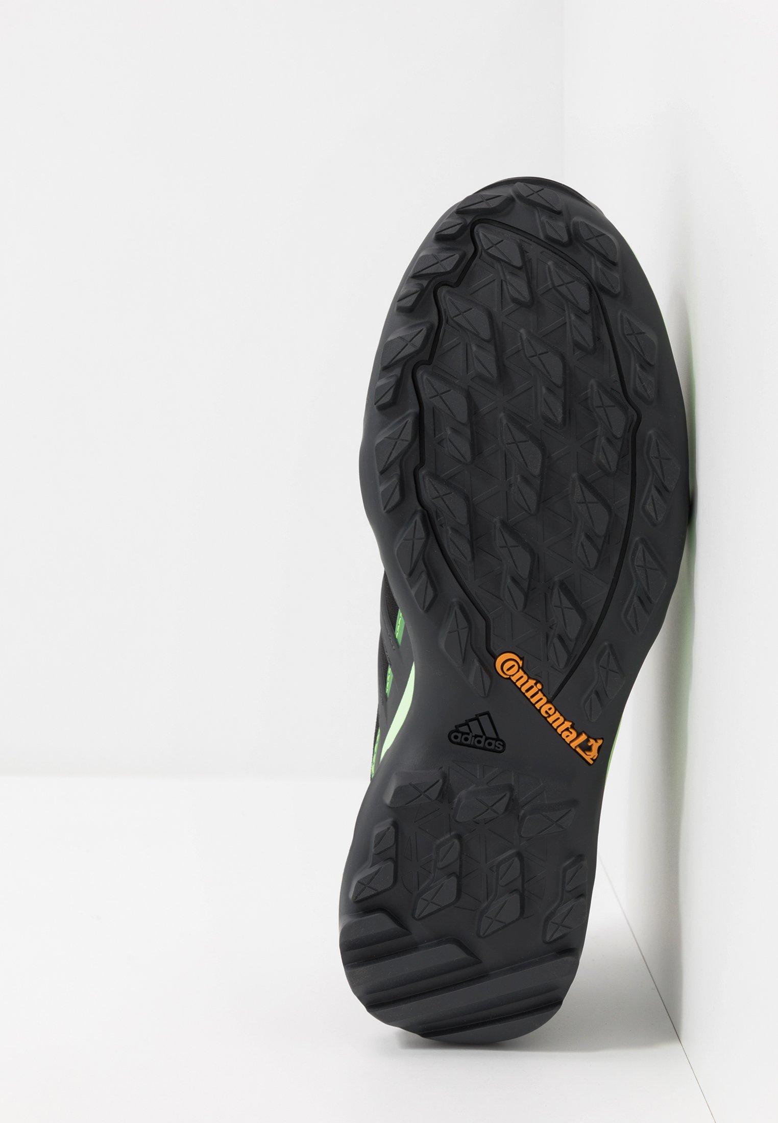 Adidas Performance Terrex Swift R2 Gore-tex - Chaussures De Running Core Black/dough Solid Grey/signal Green
