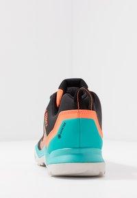 adidas Performance - TERREX AX3 GTX - Obuwie hikingowe - hi-res aqua/core black/grey one - 3