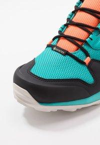 adidas Performance - TERREX AX3 GTX - Obuwie hikingowe - hi-res aqua/core black/grey one - 5