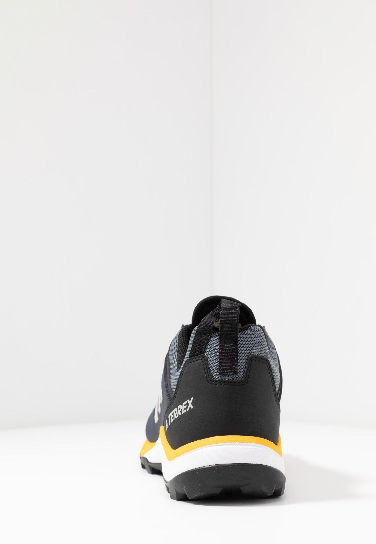 adidas Performance TERREX AGRAVIC TR - Obuwie do biegania Szlak - onix/grey two/active gold