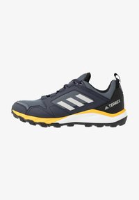 adidas Performance - TERREX AGRAVIC TRAIL RUNNING SHOES - Trail running shoes - onix/grey two/active gold - 0