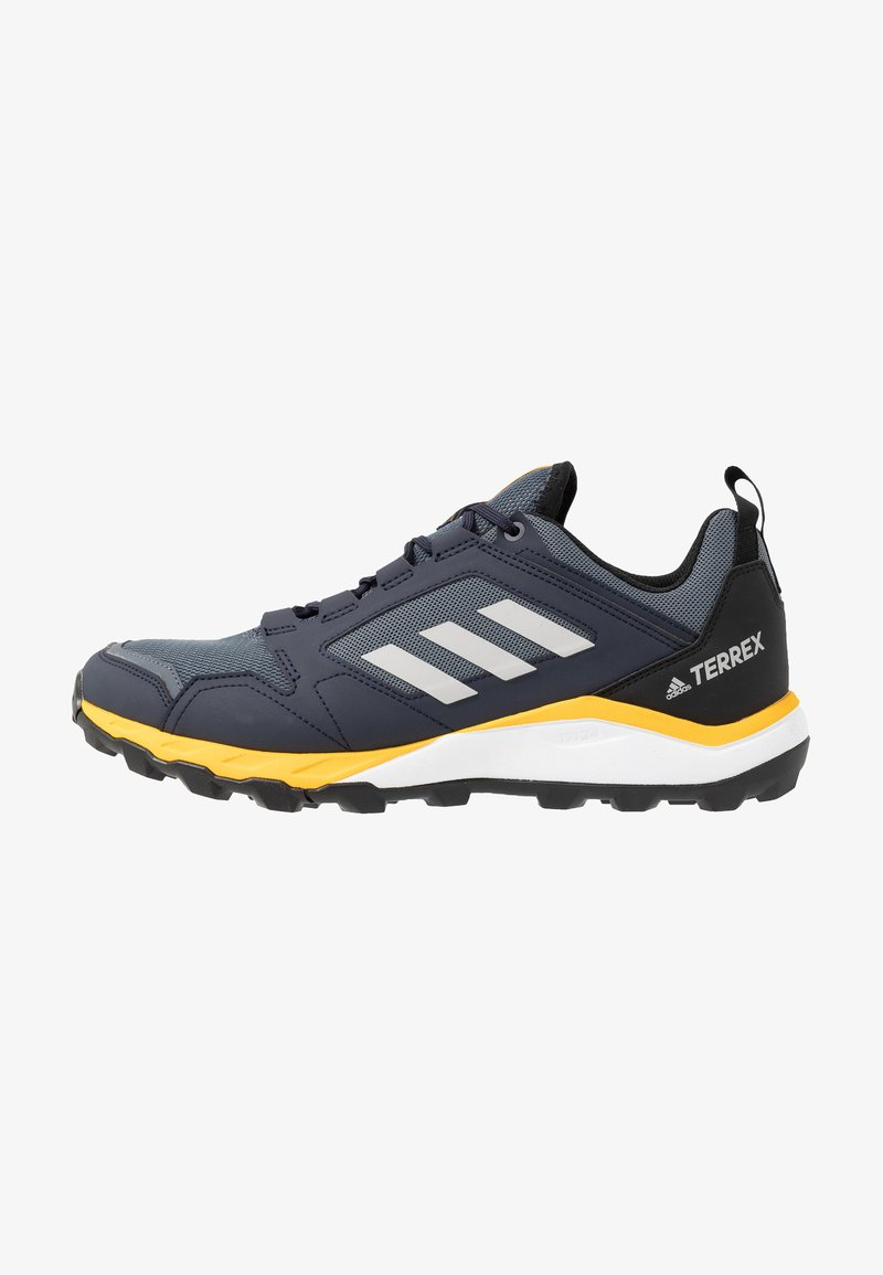 adidas Performance - TERREX AGRAVIC TRAIL RUNNING SHOES - Trail running shoes - onix/grey two/active gold